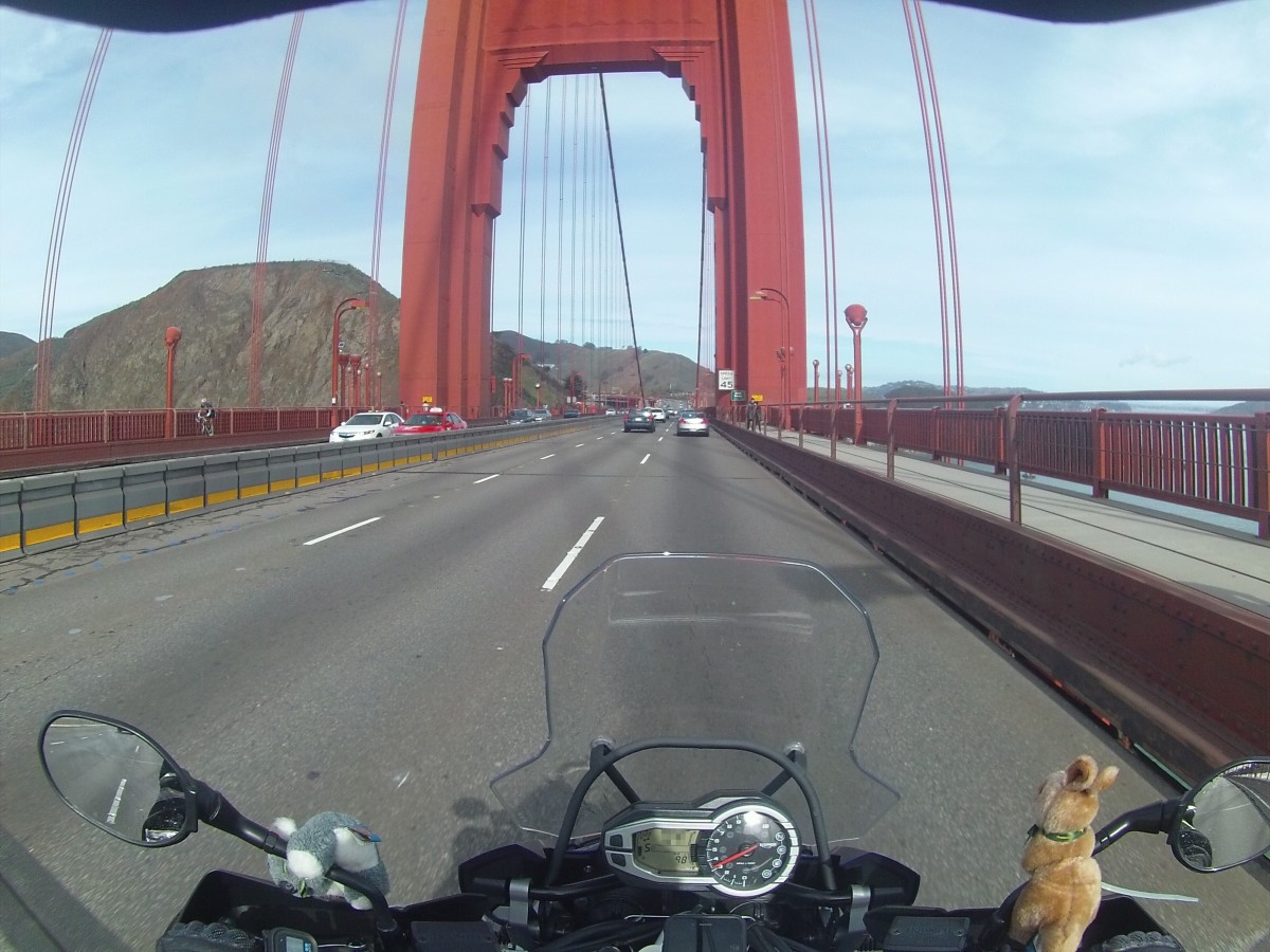 Travelogue: San Francisco and Surrounds by Motorcycle