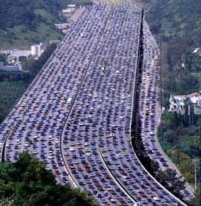 Carmageddon on the LA I405