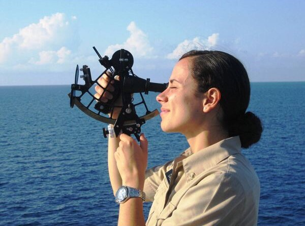 Shooting the Sun with a Sextant